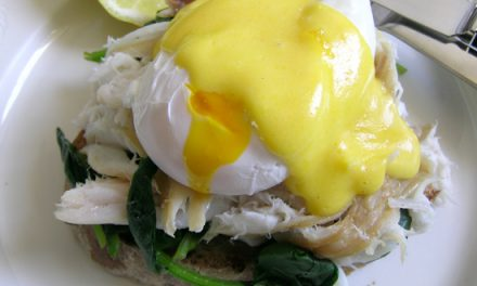 Brunch of Bradley Hot Smoked Skate Wing & Eggs Florentine