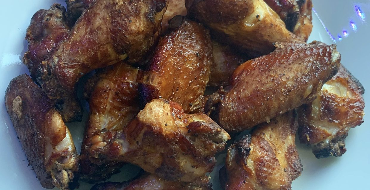 Hot Smoked Chicken Wings