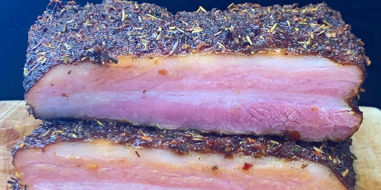Cured & Smoked Pork Belly